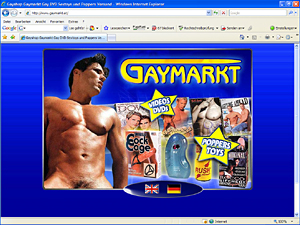 Gay DVDs and Sextoys
